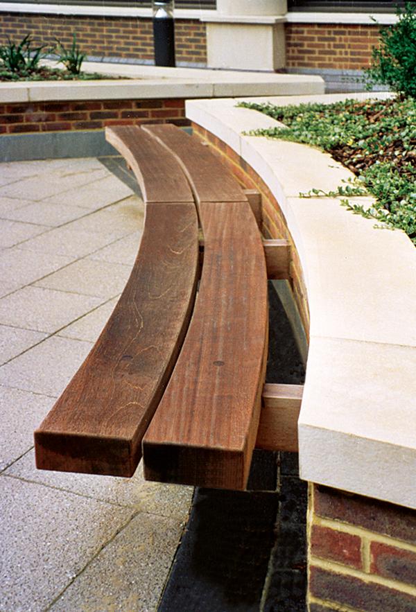 hardwood timber seat type 4. Black Bedroom Furniture Sets. Home Design Ideas
