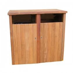 Woodscape, Bespoke, Hardwood, Innovative, Hardwood, Timber, Street Furniture, Outdoor Furniture, Urban Realm, Public Spaces, Bins, Litter bins, bin Housing, Wheelie Bin Housing, Litter Bins, Park Bins, Double, Single, Triple, Multiple