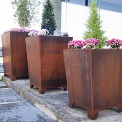 03 Planters - Corten Planter